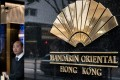 Hong Kong's Mandarin Oriental hotel is offering an afternoon-tea promotion for men based on pork pies and beef rather than dainty snacks 'normally preserved for women'. Photo: AFP