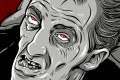 An illustration of actor Bill Hinzman in the 1968 film Night of the Living Dead, as seen in Birth of the Living Dead. Photo: Predestinate Productions
