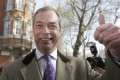 Nigel Farage, leader of the UK Independence Party. Photo: Reuters