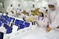 LDK Solar yesterday announced a two-week extension for repayment of interest on a US$280 million bond. Photo: Reuters