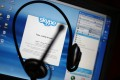 Skype has 300 million active users worldwide. Photo: AFP