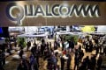 Qualcomm at last year's Consumer Electronics Show in Las Vegas. The firm is under scrutiny by China's anti-monopoly body. Photo: Bloomberg