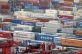 Freight rates to the United States West Coast dropped 3 per cent last week, which was on par with the drop in the same period last year. Photo: Reuters