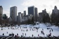 New York has been gripped by a harsh winter. Last month was the coldest January in 20 years. Photo: AFP