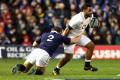 Billy Vunipola in action against Scotland. Photo: AP