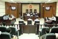 Lei Zhengfu, the Chongqing official involved in a sensational sex tape scandal stands on trial on Jun 19, 2013 in Chongqing. Photo: Xinhua