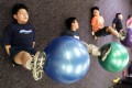 The WHO recommends children aged five to 17 should get at least an hour of moderate to vigorous physical activity a day, and adults should do at least two- and-a-half hours of moderate exercise a week. Photo: Reuters