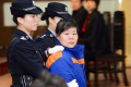 Zhang Shuxia was given a suspended death sentence for abducting newborn babies and selling them to traffickers in Shaanxi province in January. Photo: Reuters