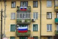 Russian flags fly in Sevastopol. Photo: AFP