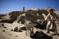 A mining site in in Mes Aynak, south of Kabul, Afghanistan. Afghanistan's vast mineral wealth is no secret. Photo: AP