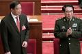 Xu Caihou (right) with Bo Xilai in Beijing in 2012. Photo: Simon Song