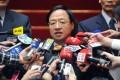 Tawian Premier Jiang Yi-huah. Photo: AFP