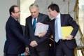 Manuel Valls (right) was a popular interior minister. Photo: AFP