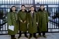 Jiang Tianyong, Zhang Junjie, Wang Cheng and Tang Jitian in an undated photograph of the lawyers held on March 21.
