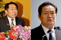 Guo Yongxiang (left), another aide to former security czar Zhou Yongkang (right), has been expelled from the Communist Party and is facing criminal charges. Photo: EPA, Weibo