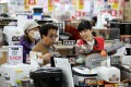 The increase in sales tax this month has caused a bigger impact on Japanese consumers than the previous rise in 1997. Photo: Bloomberg