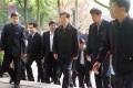 Retired leader Hu Jintao visits Yuelu Academy. Photo: SCMP