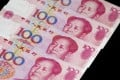 The scheme may be more about the relationship between the yuan as the mainland's official currency and the Hong Kong dollar.
