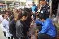 Residents in Lanzhou rushed to buy bottled drinks after authorities said benzene had been found in tap water at 20 times above national safety levels. Photo: Reuters