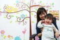 Mandy Chang and her 20-month-old daughter Stephanie Huang. Photos: Nora Tam