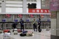 The scene at Kunming railway station on March 2, a day after attackers with knives killed 29 people and injured more than 140. Photo: Reuters