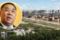 Macau Chief Executive Dr Fernando Chui Sai-on (inset) said five sq. km allocated on Hengqin island for joint cross-border development was not enough. Photo: K.Y. Cheng