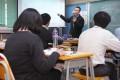 Liberal studies teacher Terence Poon Man-yiu addresses a class at De la Salle Secondary School. Photo: Edmond So