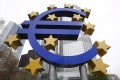 The European Central Bank is preparing to take over supervision of about 130 euro-area lenders from November. Photo: AFP