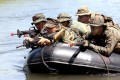 US and Filipino troops practiced amphibious assaults in 2012, as they did this year. Photo: EPA