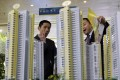 Mainland residential sales were down 8.6 per cent by volume and 9.9 per cent by revenue in the first four months. Photo: Reuters