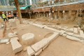Construction on the Sha Tin to Central rail link has been stalled by the Song-dynasty discoveries. Photo: SCMP pictures
