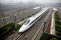 China's ambitious proposals to build high-speed railway lines to Europe, North America and Southeast Asia face huge challenges. Photo: EPA