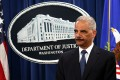 US Attorney General Eric Holder announce indictments against Chinese military hackers on cyber-espionage. Photo: AFP