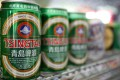 Beer consumption in China hit 50 billion litres in 2012.