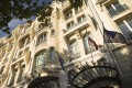The location of the Paris Marriott Hotel Champs-Elysees on the famous shopping strip is a draw for Chinese. Photo: SCMP