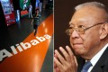 Tung Chee-hwa (right). Alibaba's first revision to its listing prospectus showed net income in the past year almost tripled from a year earlier. Photos: SCMP and Reuters