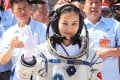 The PLA Air Force chooses potential astronauts such as Wang Yaping. Photo: EPA