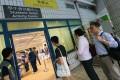 People vote at City University, Kowloon Tong. Photo: David Wong