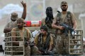 Pakistani army soldiers on patrol in Bannu. Photo: AFP