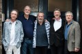Monty Python, (from left) Eric Idle, John Cleese, Terry Gilliam, Michael Palin and Terry Jones, ahead of their first show in London. Photo: AFP
