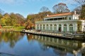 The boathouse in Prospect Park, Brooklyn.