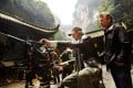 Director Michael Bay lines up a shot for camera operator John Skotchdopole in Wulong Karst National Park during a scene from Transformers: Age of Extinction. Photo: SCMP