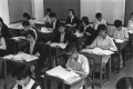 Local students sit the Secondary School Entrance Examination, in 1974. Photos: SCMP