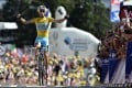 Vincenzo Nibali easily wins the 13th stage of the Tour de France from Saint-Etienne to Chamrousse to increase his overall lead. Photo: AFP