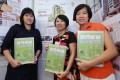 (From left) Yvonne Liu, Sandy Li and Peggy Sito with their Consumer Rights Reporting Awards. Photo: Edmond So