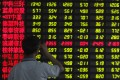 All stocks that debuted over two days in Shanghai and Shenzhen hit their first day limit. Photo: Reuters