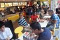 Customers enjoy food at McDonald's in Sai Wan Ho. Photo: Edward Wong
