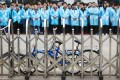 Workers protest at an IBM factory in Shenzhen, Guangdong on March 7. Photo: Reuters