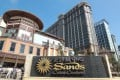 Sands China is feeling the effects of the mainland anti-corruption drive, with a sharp slowdown in mass gaming last month. Photo: Dickson Lee