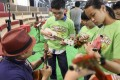 The Strum One, Strum All ukulele jam session allows novices to play alongside professional musicians.